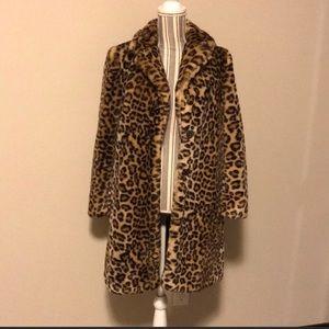 Zara leopard print coat 🧥
